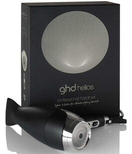 Фен для сушки и укладки волос черный Helios GHD