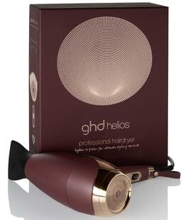 Фен для сушки и укладки волос сливовый Helios GHD
