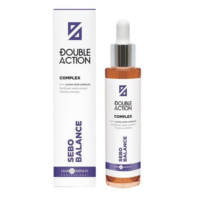 Hair Company Double Action Комплекс регулирующий работу сальных желез 50 мл