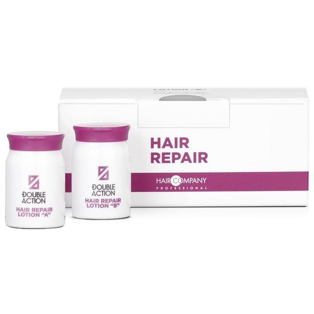 Hair Company Double Action Лосьон восстанавливающий A и B 10 шт по 10 мл