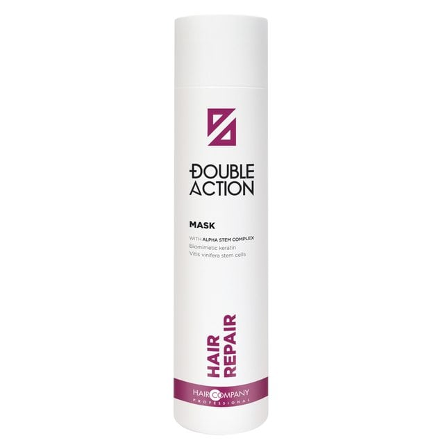 Hair Company Double Action Маска восстанавливающая 250 мл
