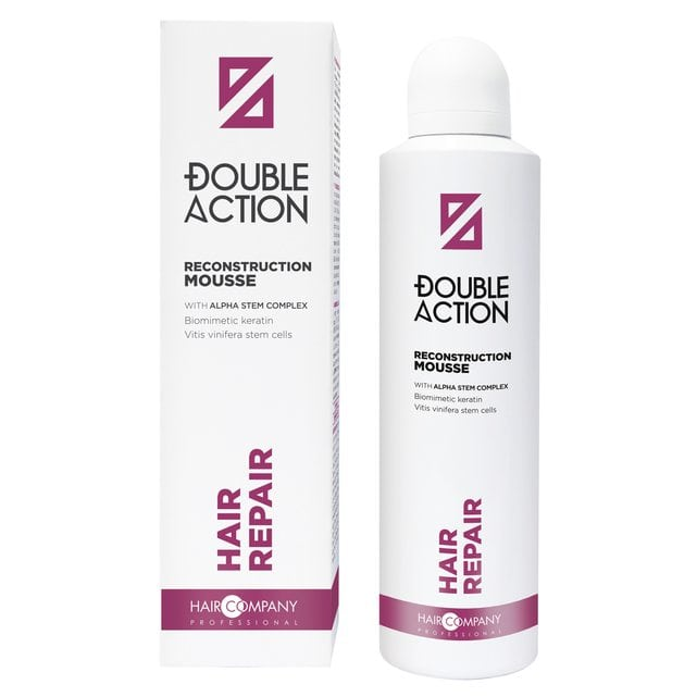 Hair Company Double Action Мусс восстанавливающий​​​​​​​ 200 мл