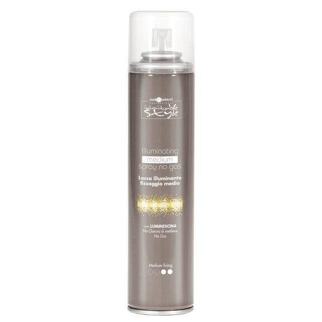 Hair Company Inimitable Style Спрей без газа придающий блеск средней фиксации 300 мл