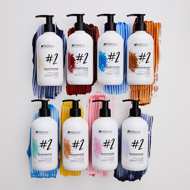 Indola #colorblaster Тонирующий кондиционер для волос 300 мл