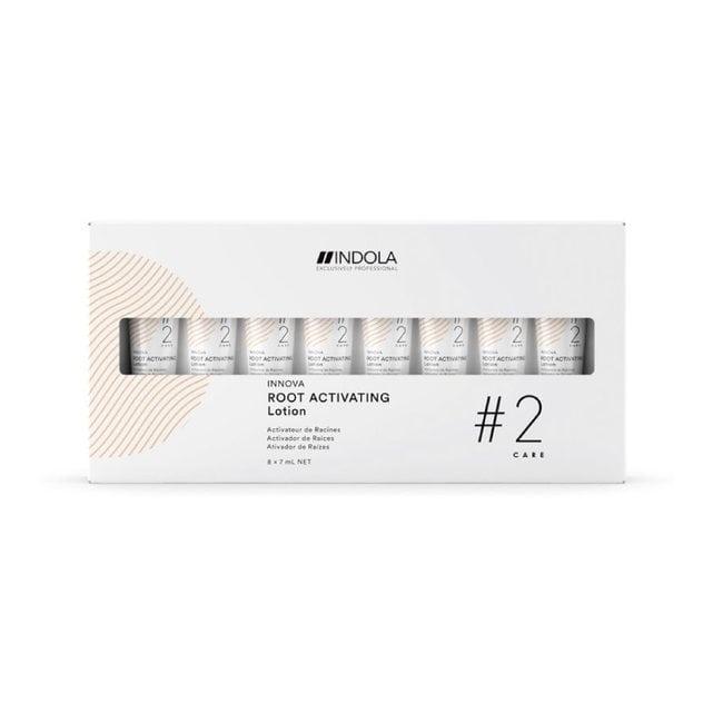 Indola Root Activating Лосьон-активатор роста волос 8 шт по 7 мл