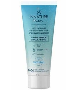 Натуральный отшелушивающий крем для умывания AQUA Innature