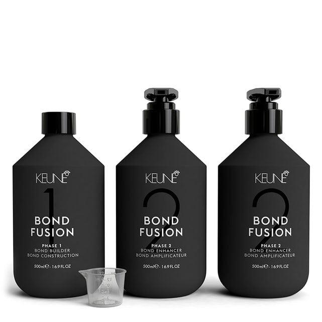 KEUNE Bond Fusion Набор Конструктор фаза 1 Усилитель фаза 2