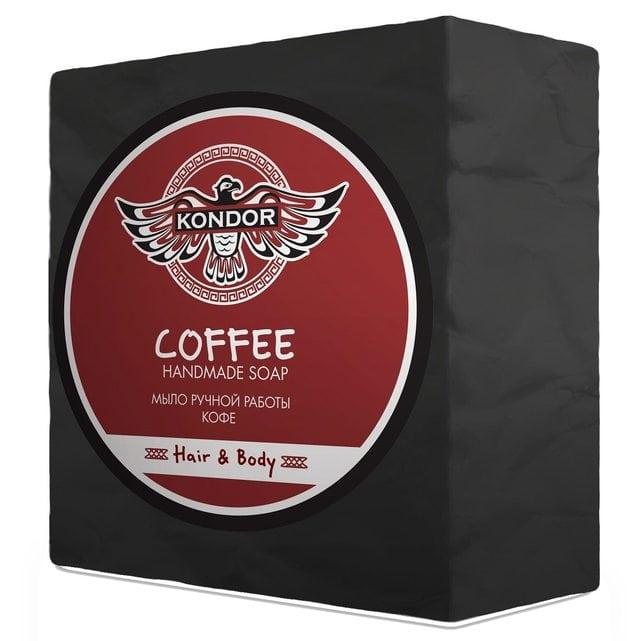 KONDOR Hair&Body Мыло ручной работы Кофе 130 г