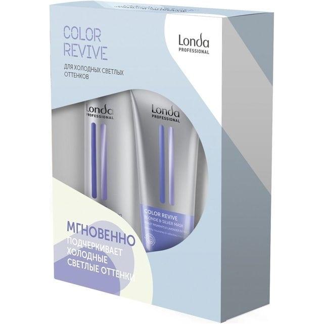 Londa Color Revive Набор для холодных светлых оттенков Blonde Silver