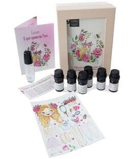 Набор для девочек Фея ароматов натуральные духи Роза MiKo