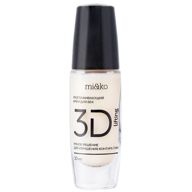 MiKo Разглаживающий дневной крем для век 3D-Lifting 10 мл