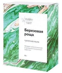 Туалетное мыло Дегтярное Березовая роща MiKo
