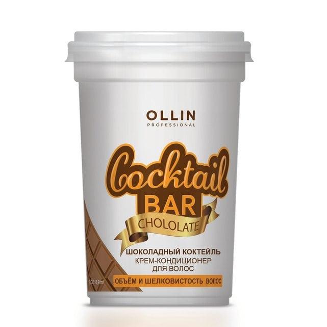 Ollin Cocktail Bar Крем-кондиционер для волос Шоколадный коктейль 500 мл