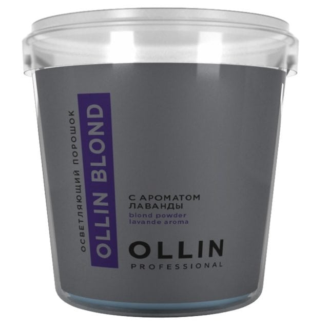 OLLIN Blond Осветляющий порошок с ароматом лаванды 500 г