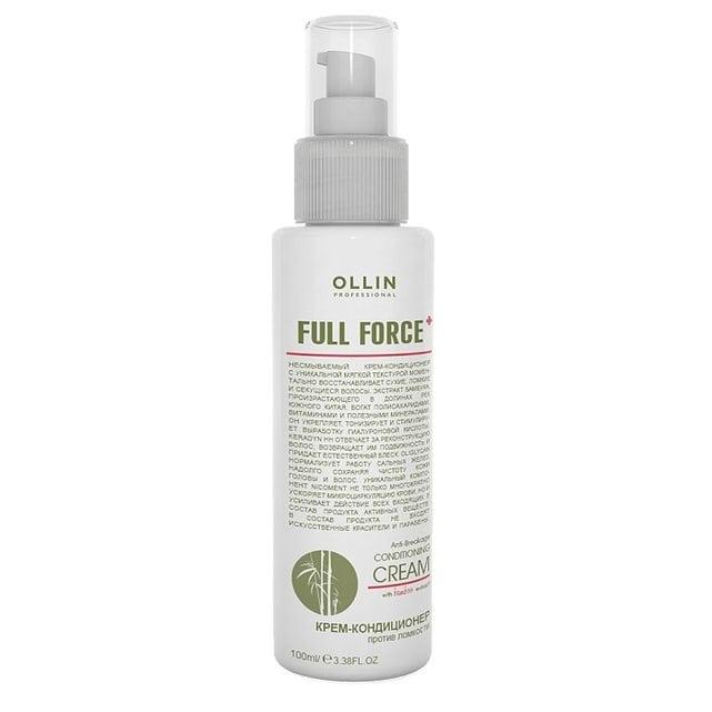 Ollin Full Force Крем-кондиционер против ломкости 100 мл