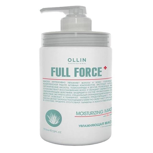 Ollin Full Force Увлажняющая маска с экстрактом алоэ 650 мл