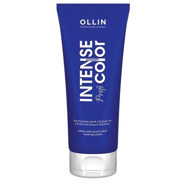 Ollin Intense Profi Color Бальзам для седых и осветленных волос 200 мл