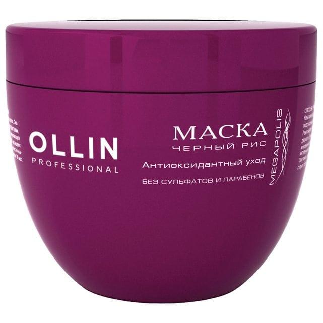 Ollin Megapolis Маска на основе черного риса 500 мл