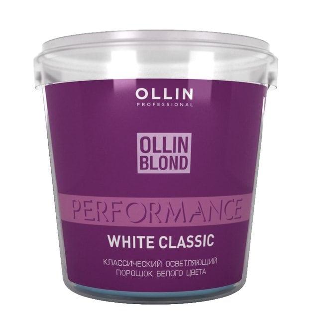 Ollin Performance Осветляющий порошок белого цвета 500 г