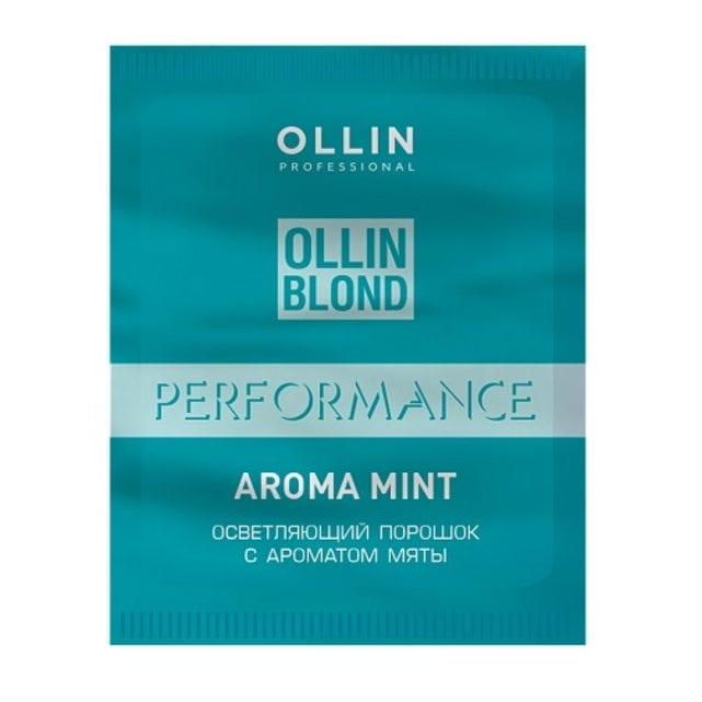 Ollin Performance Осветляющий порошок с ароматом мяты 30 г