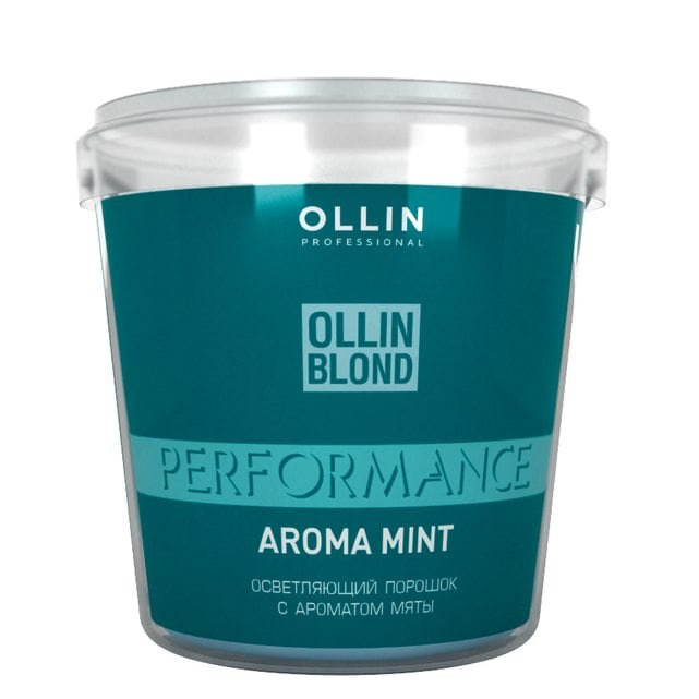 Ollin Performance Осветляющий порошок с ароматом мяты 500 г