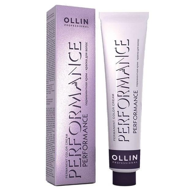 Ollin Performance Перманентная крем-краска для волос 60 мл