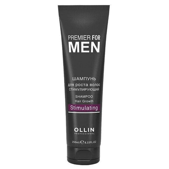Ollin Premier For Men Шампунь для роста волос стимулирующий 250 мл