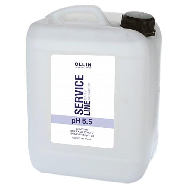 Ollin Service Line Шампунь для ежедневного применения pH 5.5 5000 мл