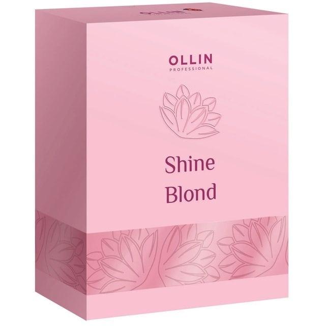 Ollin Shine Blond Набор для светлых волос