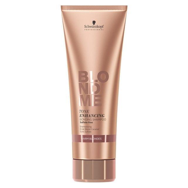 Schwarzkopf BlondMe Бондинг-шампунь для поддержания теплых оттенков блонд 250 мл
