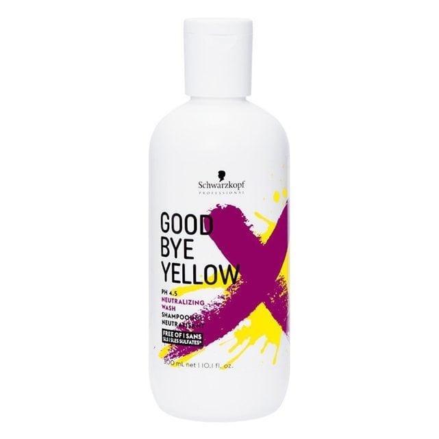 Schwarzkopf Goodbye Yellow Нейтрализующий шампунь