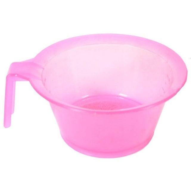 Shot Миска пластиковая для смешивания красок для волос цвет - розовый