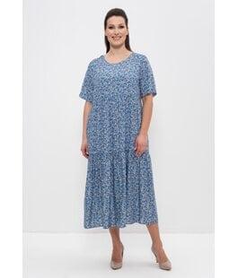 Платье 1231 индиго Cleo