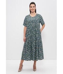 Платье 1231 темно-зеленый Cleo
