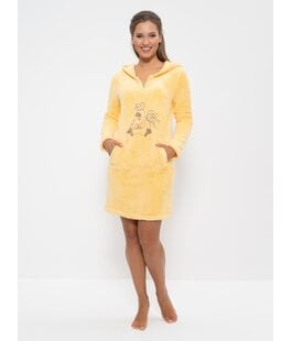 Платье домашнее 232 желтый Cleo