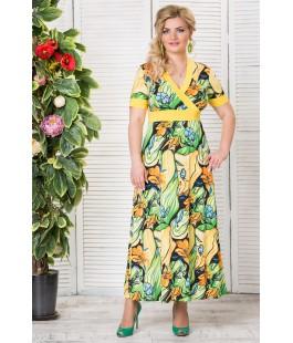 Платье Афина салат