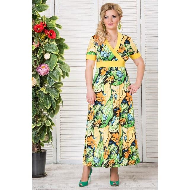 Платье LAVIRA Афина салат 5863