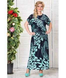 Платье Аманда изумруд