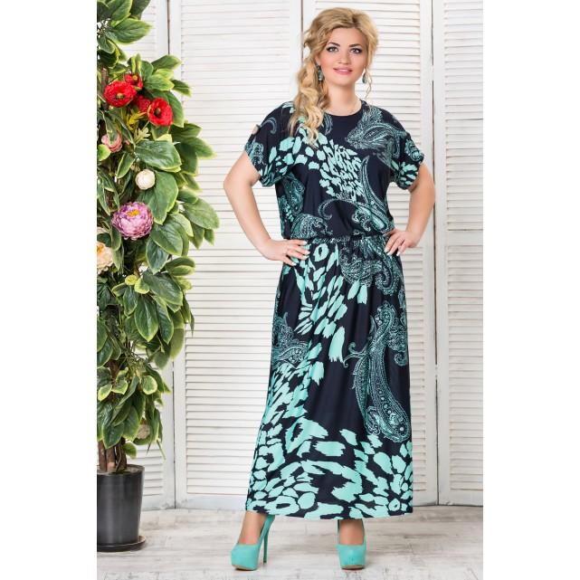 Платье LAVIRA Аманда изумруд 5845