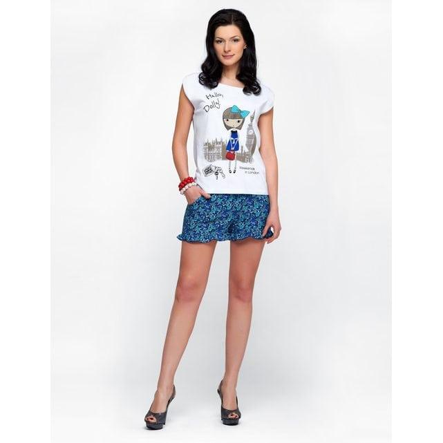 Женский комплект с шортами Lylla 994-31 синий