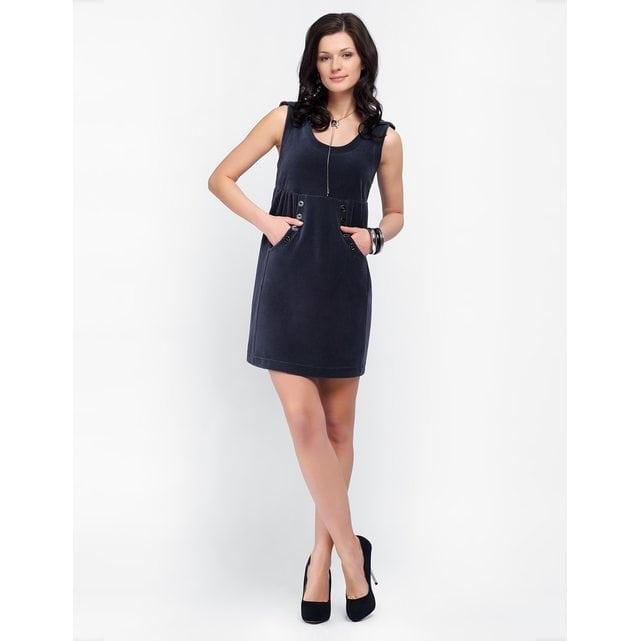 Платье домашнее Lylla 998-57 антрацит