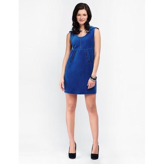 Платье домашнее Lylla 998-57 индиго