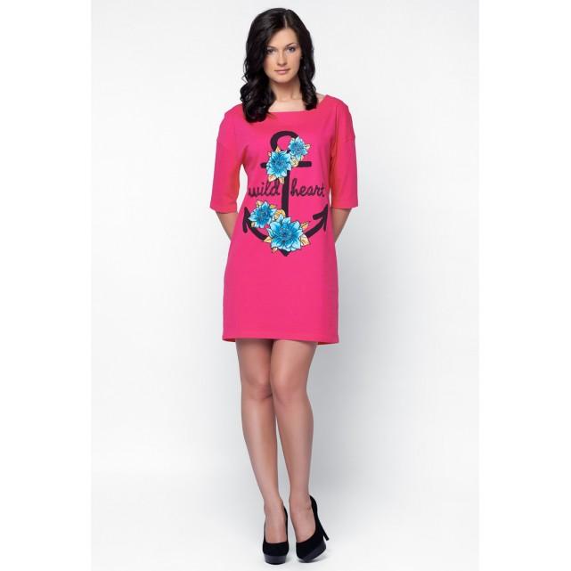 Платье Lylla 914-50 малиновый