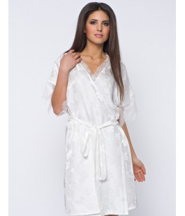 Халат кимоно Belle белый