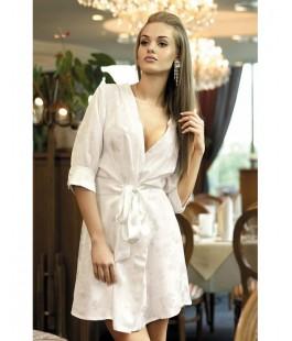 Халат кимоно белый Belle