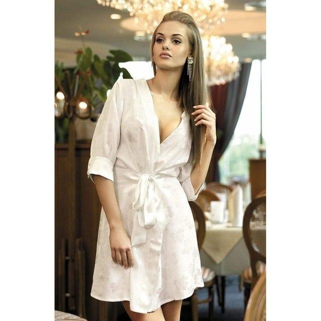 Женский халат кимоно Mia Mia Belle 5807 белый