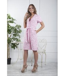 Женский халат Marta розовый